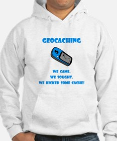 Geocaching Kick Some Cache! Hoodie