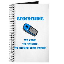 Geocaching Kick Some Cache! Journal