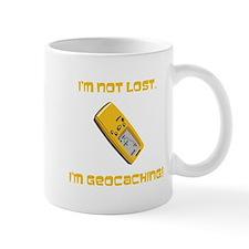 I'm not lost. I'm geocaching. Mug