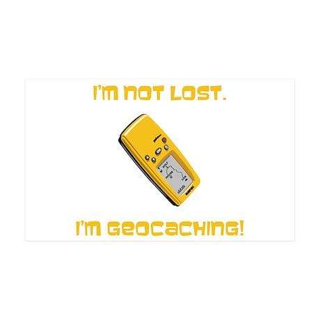 I'm not lost. I'm geocaching. 38.5 x 24.5 Wall Pee