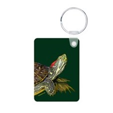 Lively Red Eared Slider Keychains