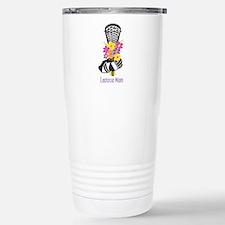 Unique Lacrosse mom Travel Mug