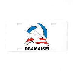 Obamaism Aluminum License Plate