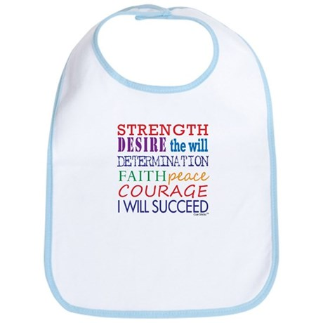 Encouraging Words Bib