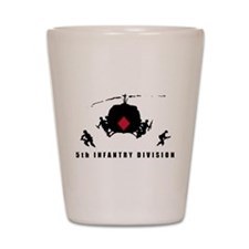 5th INFANTRY DIVISION Shot Glass
