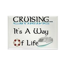 Cruising... A Way of Life Rectangle Magnet