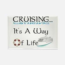 Cruising... A Way of Life Rectangle Magnet