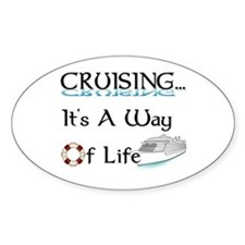 Cruising... A Way of Life Decal