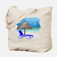 Therapy Couch Tote Bag
