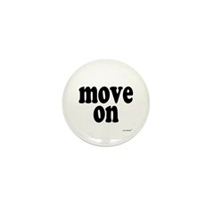 Move On Mini Button (100 pack)