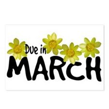 Due in March - Daffodils Postcards (Package of 8)