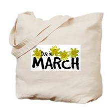 Due in March - Daffodils Tote Bag