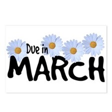 Due in March - Daisies Postcards (Package of 8)
