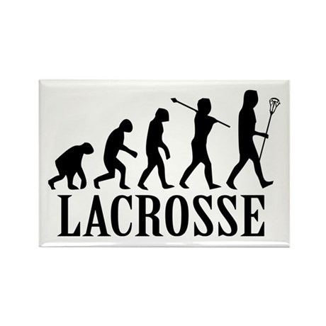 Lacrosse Evolution Rectangle Magnet
