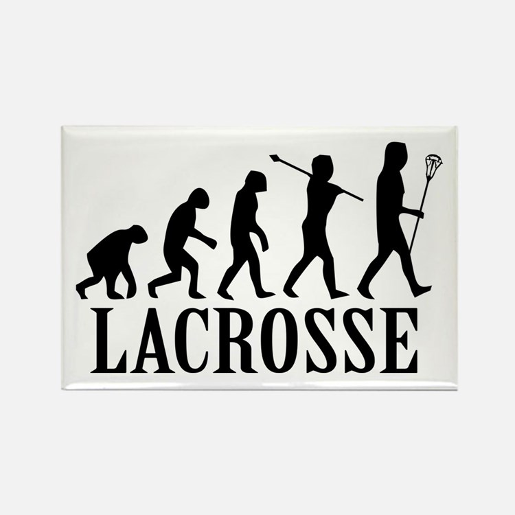 Lacrosse Evolution Rectangle Magnet