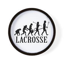 Lacrosse Evolution Wall Clock