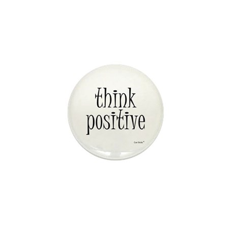 Think Positive Mini Button (100 pack)