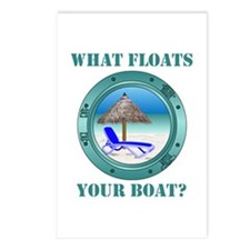 What Floats Your Boat Postcards (Package of 8)