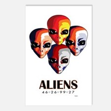 The MotoGP Aliens Postcards (Package of 8)