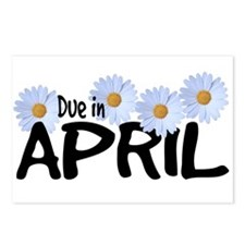 Due in April - Daisies Postcards (Package of 8)