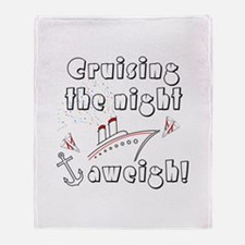 Cruise Aweigh Throw Blanket