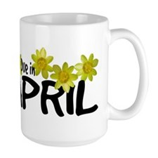 Due in April - Daffodils Mug