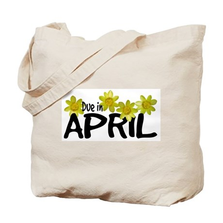 Due in April - Daffodils Tote Bag
