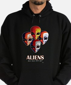 The MotoGP Aliens Hoodie (dark)