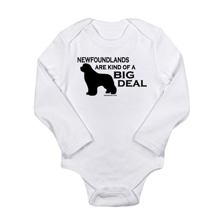 Big Deal Long Sleeve Infant Bodysuit