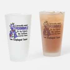 Cute Esophageal cancer awareness month Drinking Glass
