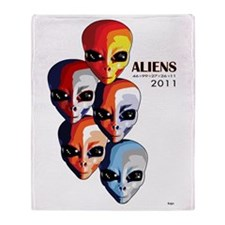 The Aliens with Ben Spies! Throw Blanket