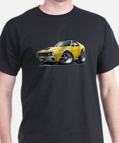 1970 AMX Yellow Car T-Shirt