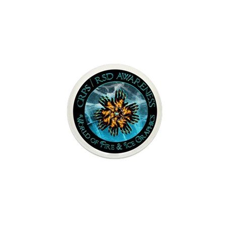 CRPS / RSD World of Fire & Ice Logo Mini Button (1