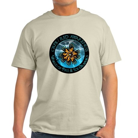 CRPS / RSD World of Fire & Ice Logo Light T-Shirt