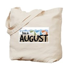 Due in August - Beach Tote Bag