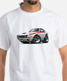1970 AMX White-Red Car Shirt