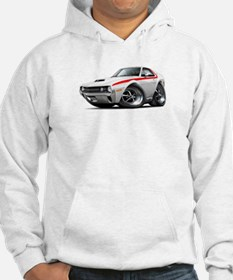 1970 AMX White-Red Car Hoodie