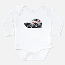 1970 AMX White-Red Car Long Sleeve Infant Bodysuit