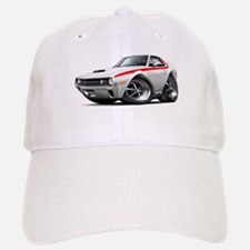 1970 AMX White-Red Car Baseball Baseball Cap