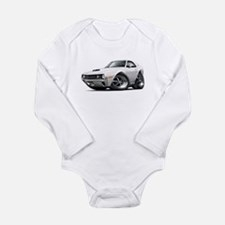 1970 AMX White Car Long Sleeve Infant Bodysuit