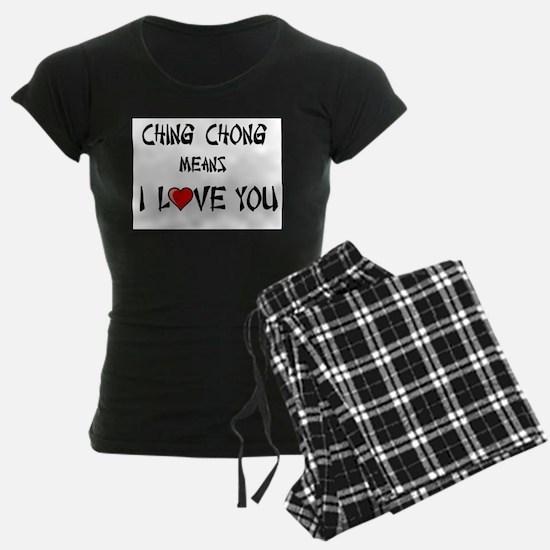 Ching Chong pajamas