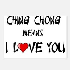 Ching Chong Postcards (Package of 8)