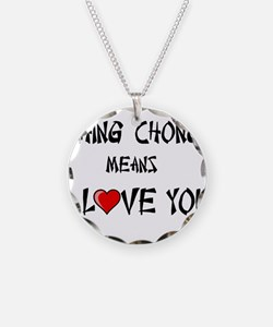Ching Chong Necklace