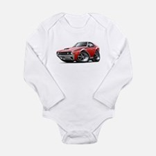 1970 AMX Red-White Car Long Sleeve Infant Bodysuit