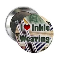 I Love Inkle Weaving Button