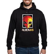 Alien 46 Valentino Rossi Hoodie