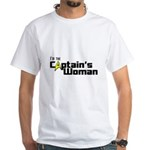 The Captain's Woman White T-Shirt