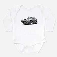 1970 AMX Grey-White Car Long Sleeve Infant Bodysui