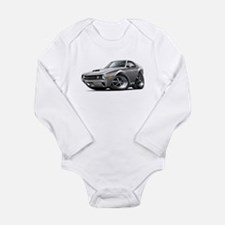 1970 AMX Grey-Black Car Long Sleeve Infant Bodysui
