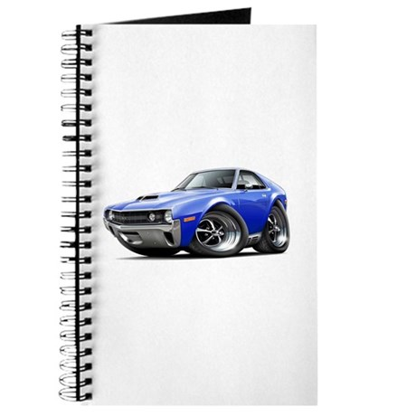 1970 AMX Blue Car Journal